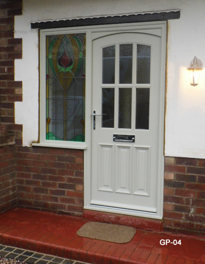 Oak Doors Two Raised And Fielded Panels Grooved