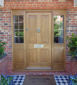 georgian and edwardian panelled doors
