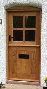 oak stable door four pane