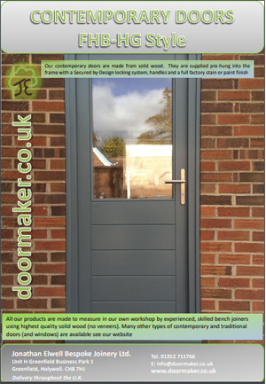 contemporary fhb-hg door brochure