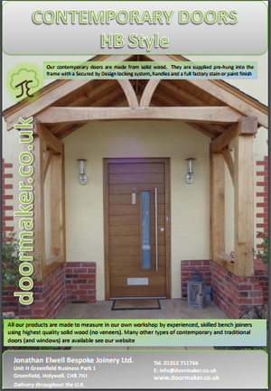 horizontal boarded doors brochure