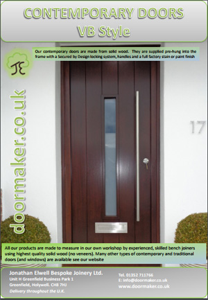 vertical boarded doors brochure