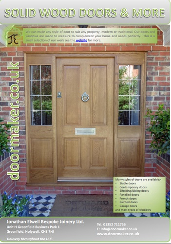 oak and hardwood doors